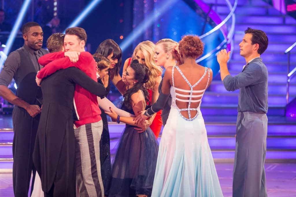 Claudia and AJ take their final dance  - (C) BBC - Photographer: Guy Levy