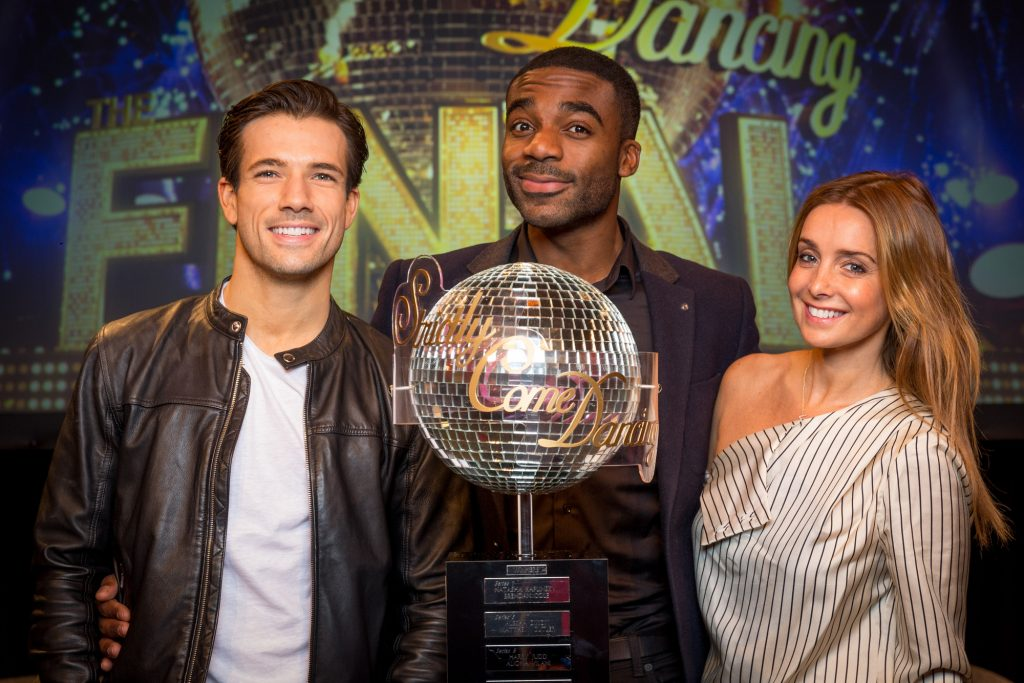 Danny Mac, Ore Oduba, Louise Redknapp - (C) BBC - Photographer: Guy Levy