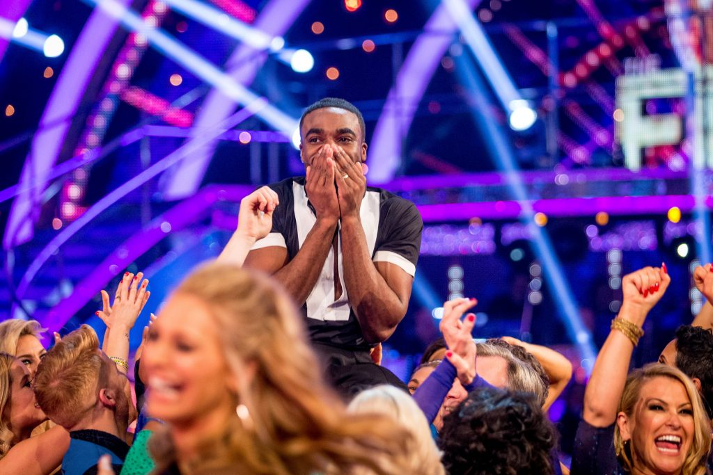 Ore Oduba - (C) BBC - Photographer: Guy Levy