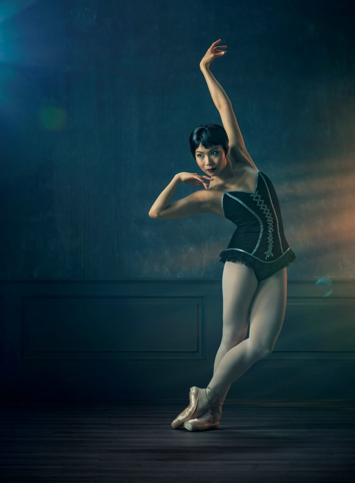 Carmen portrait - dancer Mayu Tanigaito credit Ross Brown