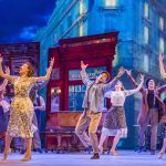The cast of An American in Paris at the Dominion Theatre CREDIT Tristram Kenton
