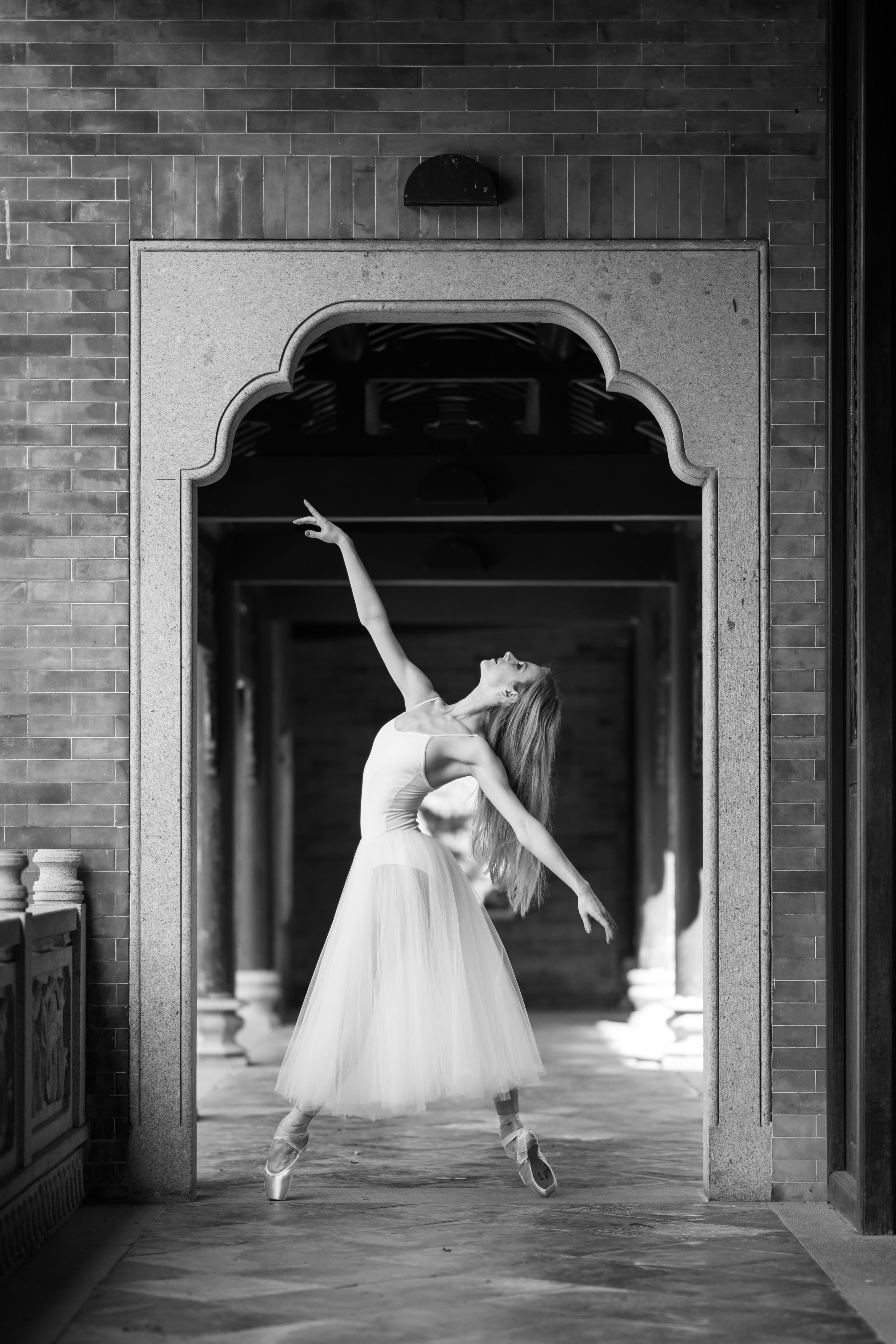 Jessica Burrows; photo by Lee Wai Leung for Worldwide Dancer Project; photo courtesy of Jessica Burrows