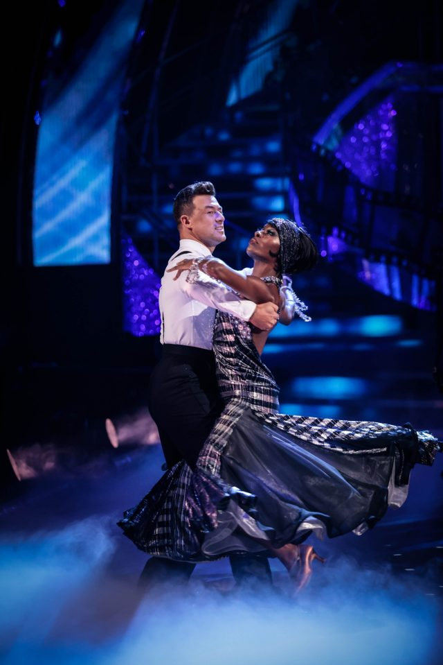 Strictly Come Dancing professional dancers and their partners on the show